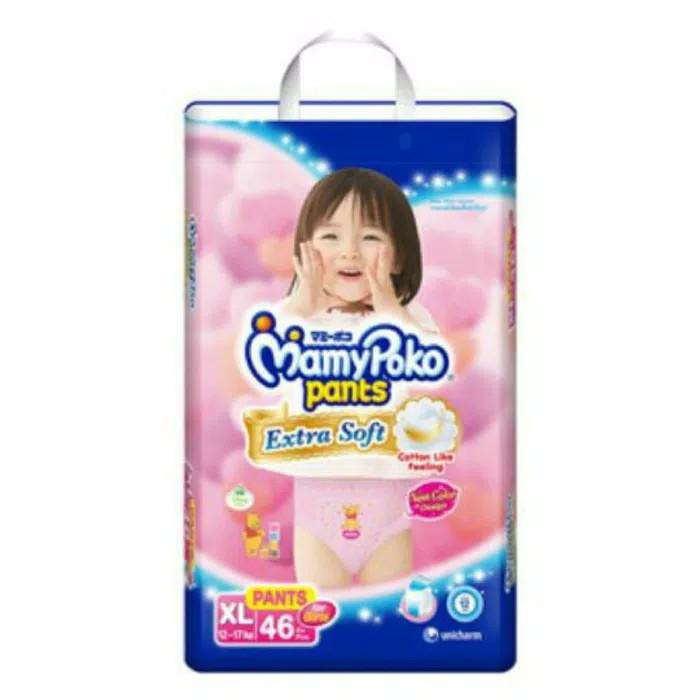 Mamy Poko Extra Soft pants XL (46)/popok celana mamy poko XL (46) pcs