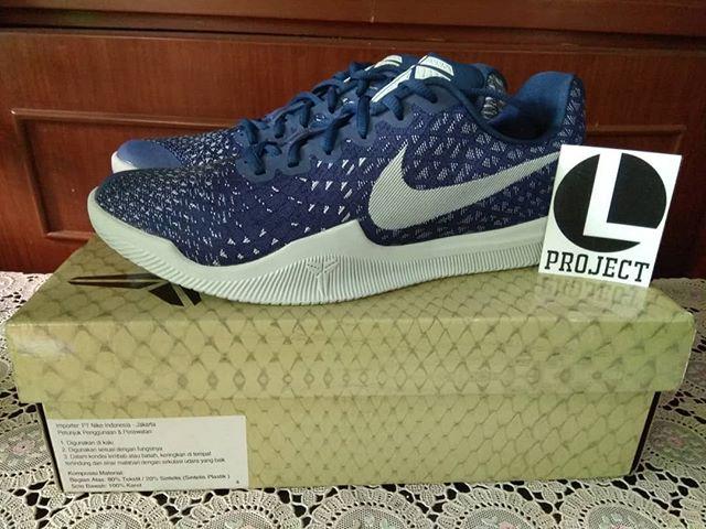 290b1a285260 Jual Sepatu Basket Nike Original Kobe Mamba Instinct Blue - Luki ...