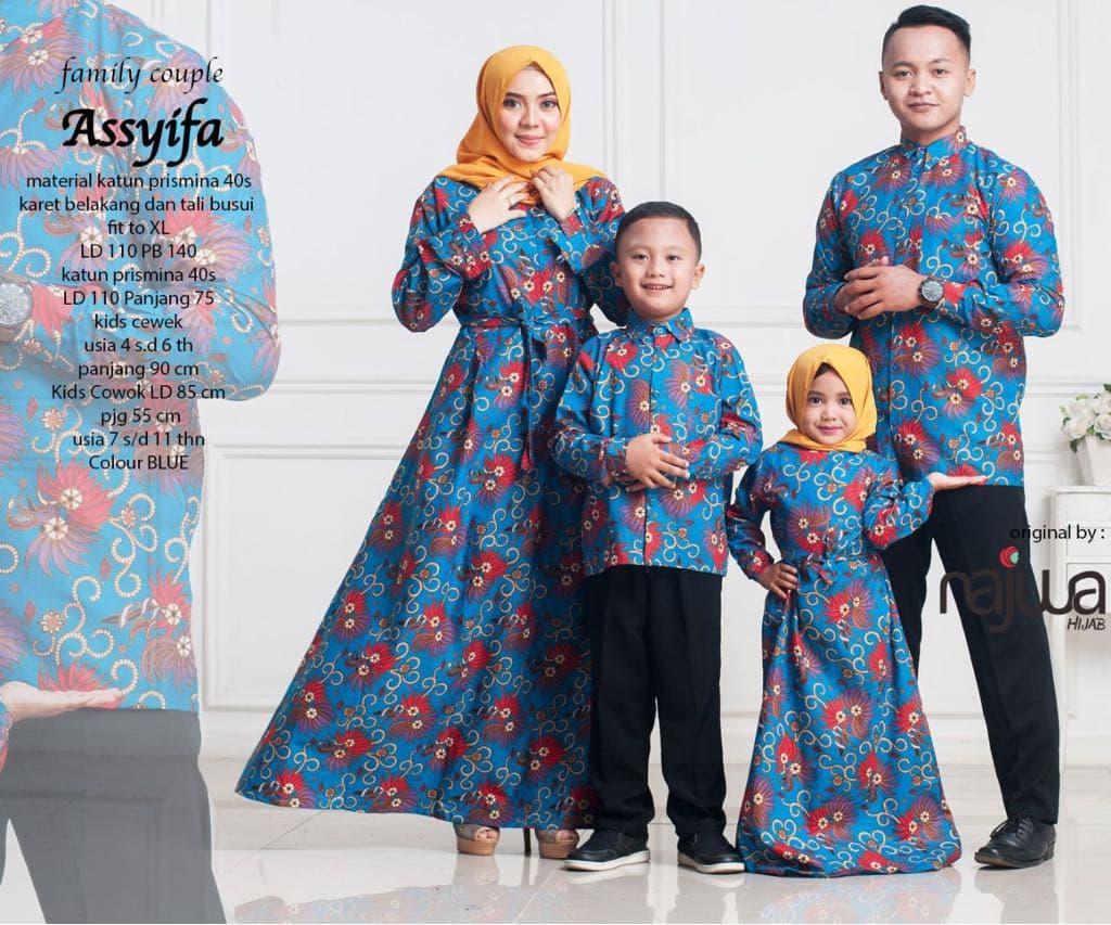Koleksi Desain Baju Couple Keluarga | 1001desainer