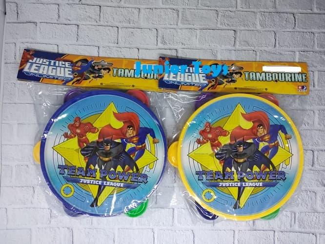 harga Mainan Alat Musik Tamborin Justice League 17cm Blanja.com