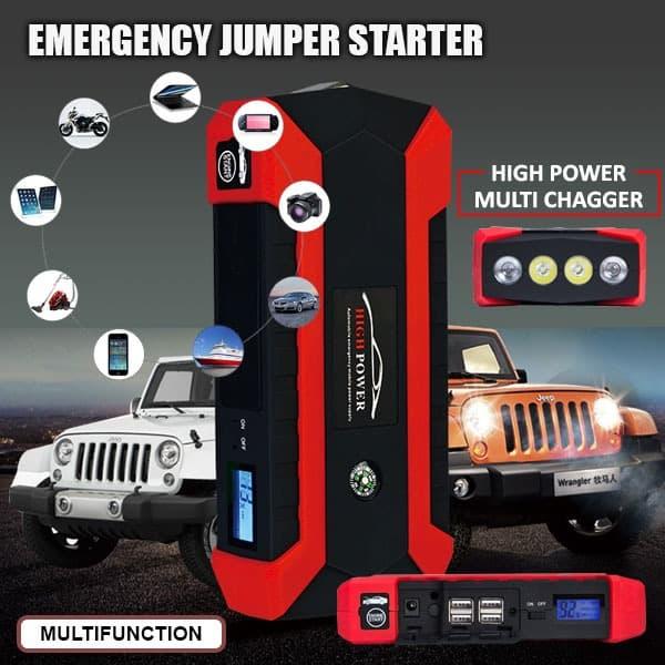 harga Jump Starter - Jumper Starter Aki Mobil Multifungsi Powerbank Blanja.com