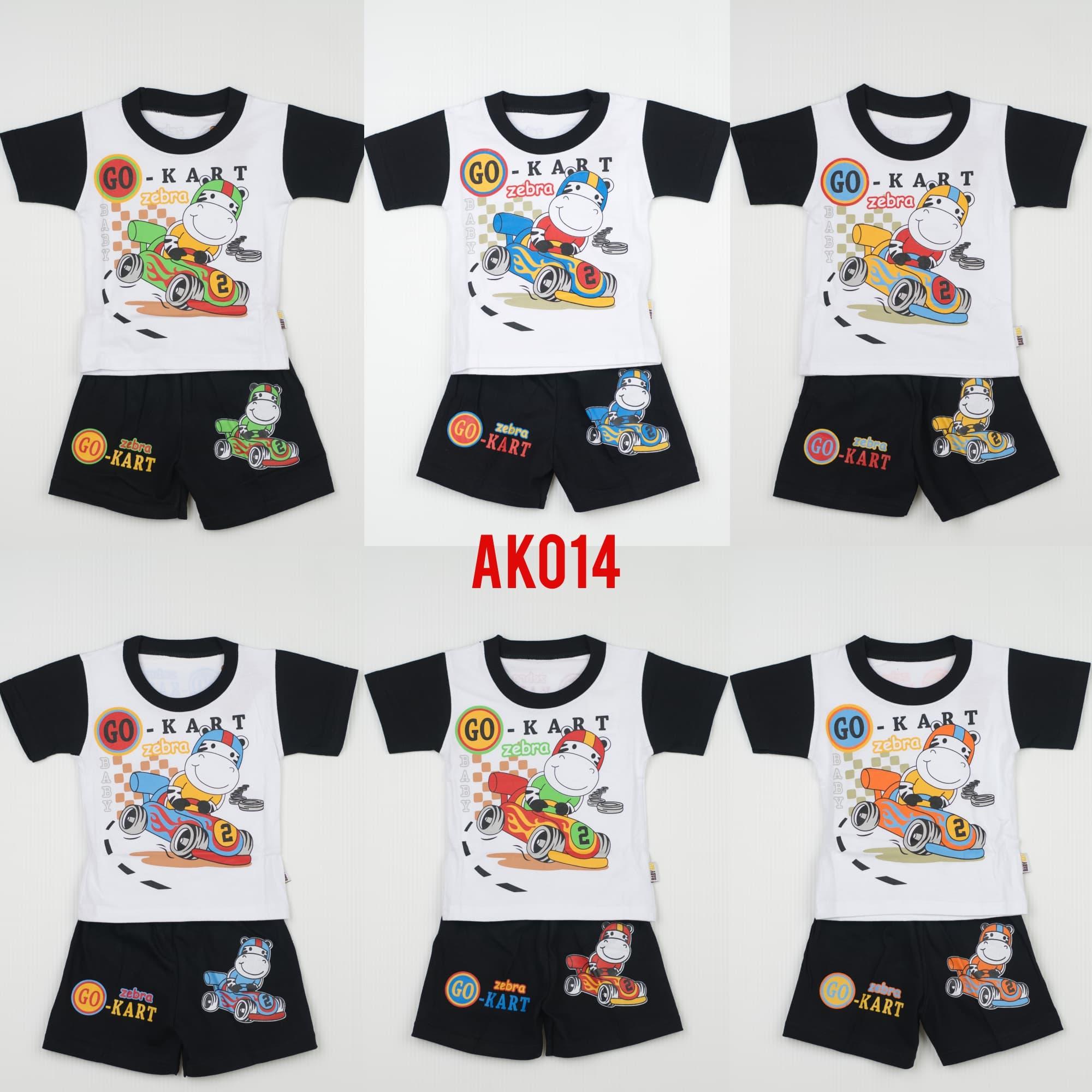 Jual Setelan Baju Kaos Anak Laki size Baby Slam Dunk AK012 BABY BAS Kids Clothing
