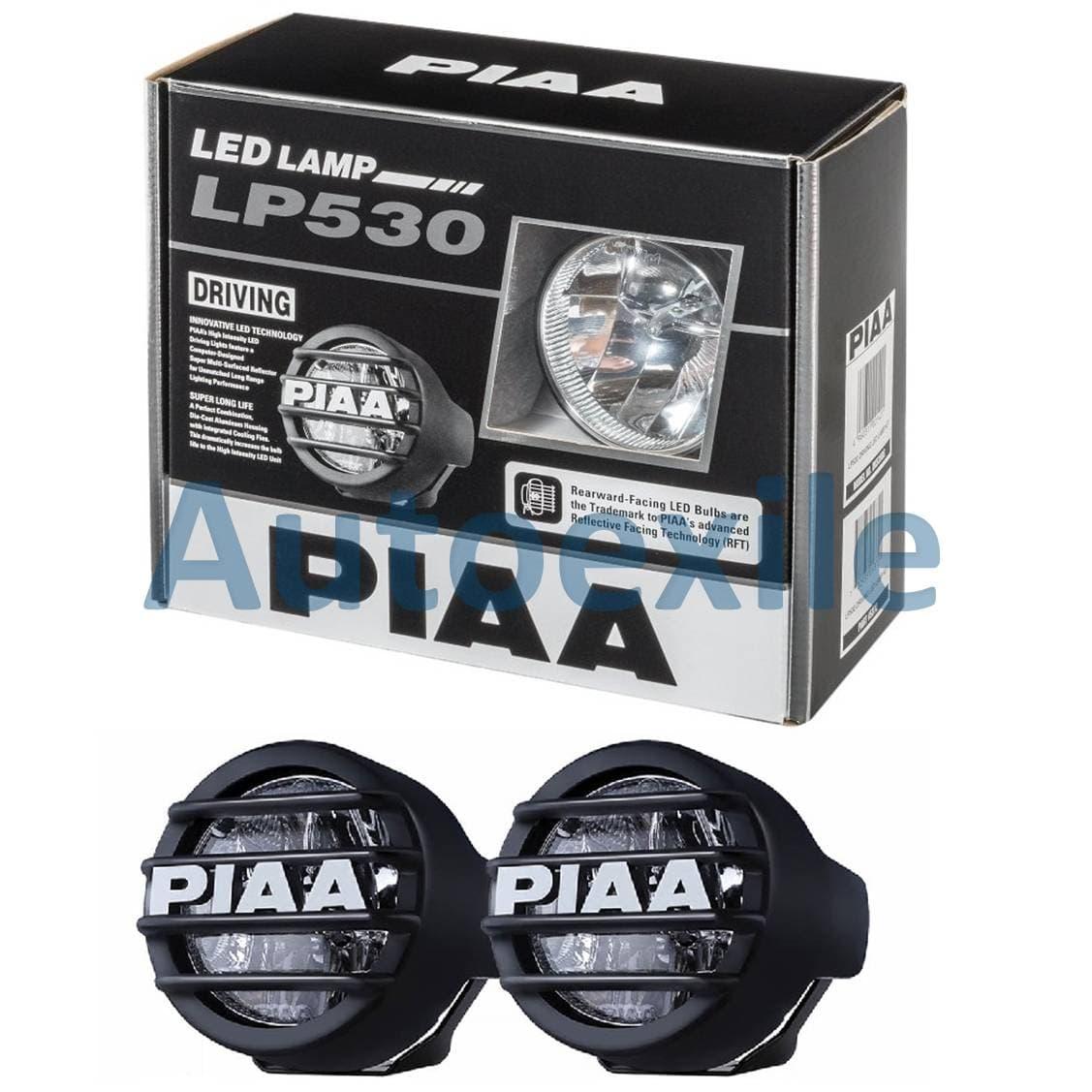 PIAA LP530 Spot Lamp LED Lampu Sorot Tembak 6000K Putih Terang Buat Motor Mobil