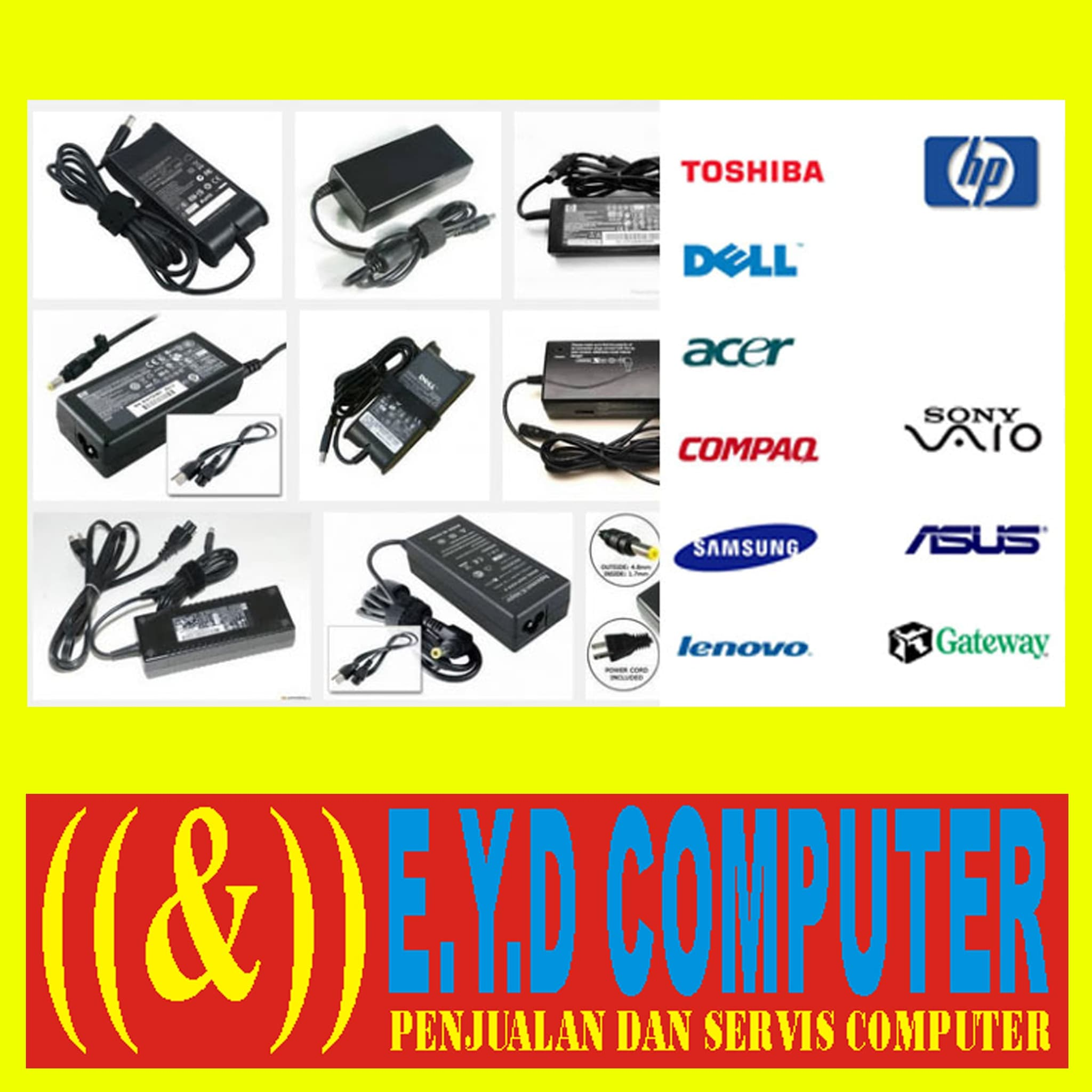 Jual Adaptor Laptop Acer 2920 2930 4732 4736 4738 4750 4741 4739 Charger Aspire 4752 4740 4710