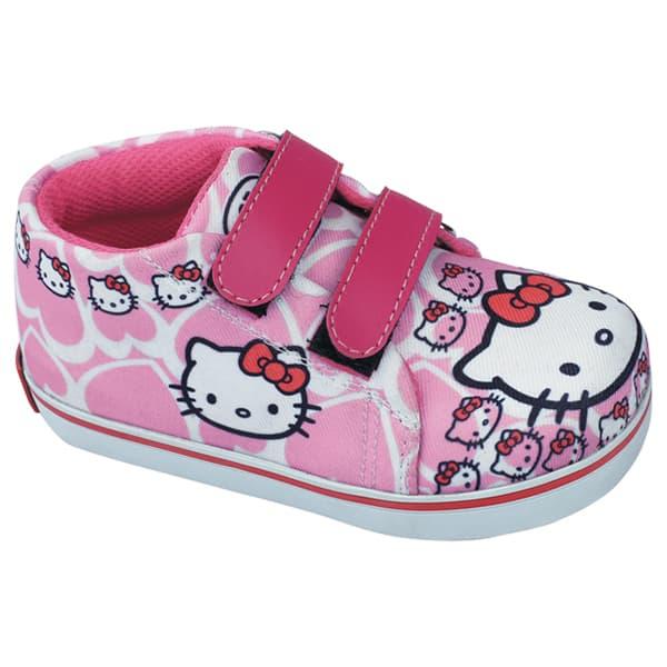 Sepatu Anak Bayi perempuan Sneakers Slip On Hello Kitty, CJR19 155