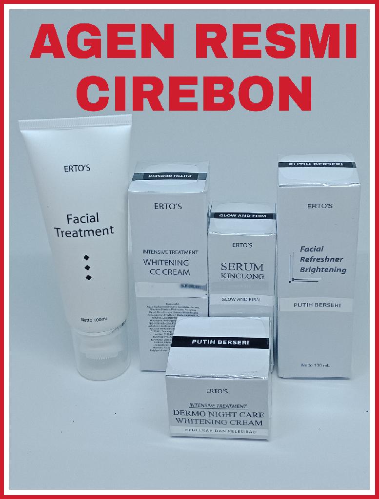 Jual Paket Ertos Facial 1 Agen Beauty Care Tokopedia Glowing