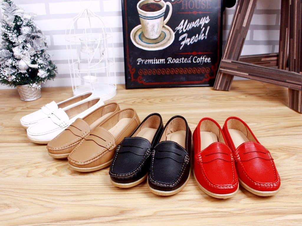 2d6052051b1 Jual Sepatu wanita Fashion Penny Casual Women Loafers 502110 ...