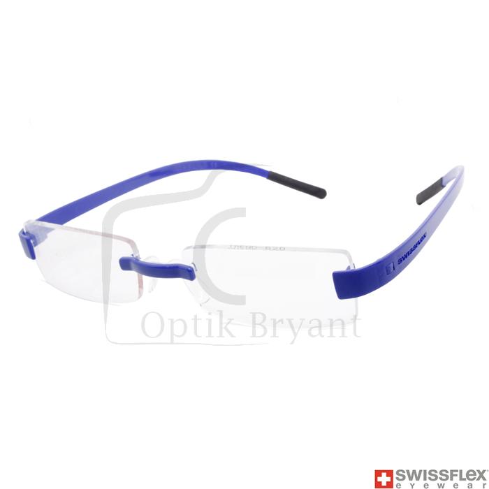 Jual Frame Kacamata SWISSFLEX Trend Blue Sapphire Original - Optik ... 0f44c3c9ae