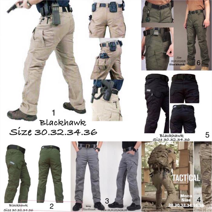 Black hawk tactical army cargo/PDL/Celana Panjang/outdorr Big size
