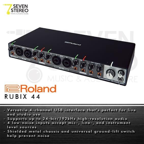 Roland Rubix44 4 Channel USB Audio Interface - Soundcard