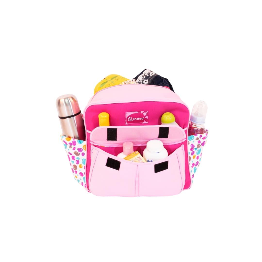 Snobby Tas Bayi Kecil Saku Colour Marbels Tpt 1573 Pink Daftar Color Marbles Polkadot Kuning Happy