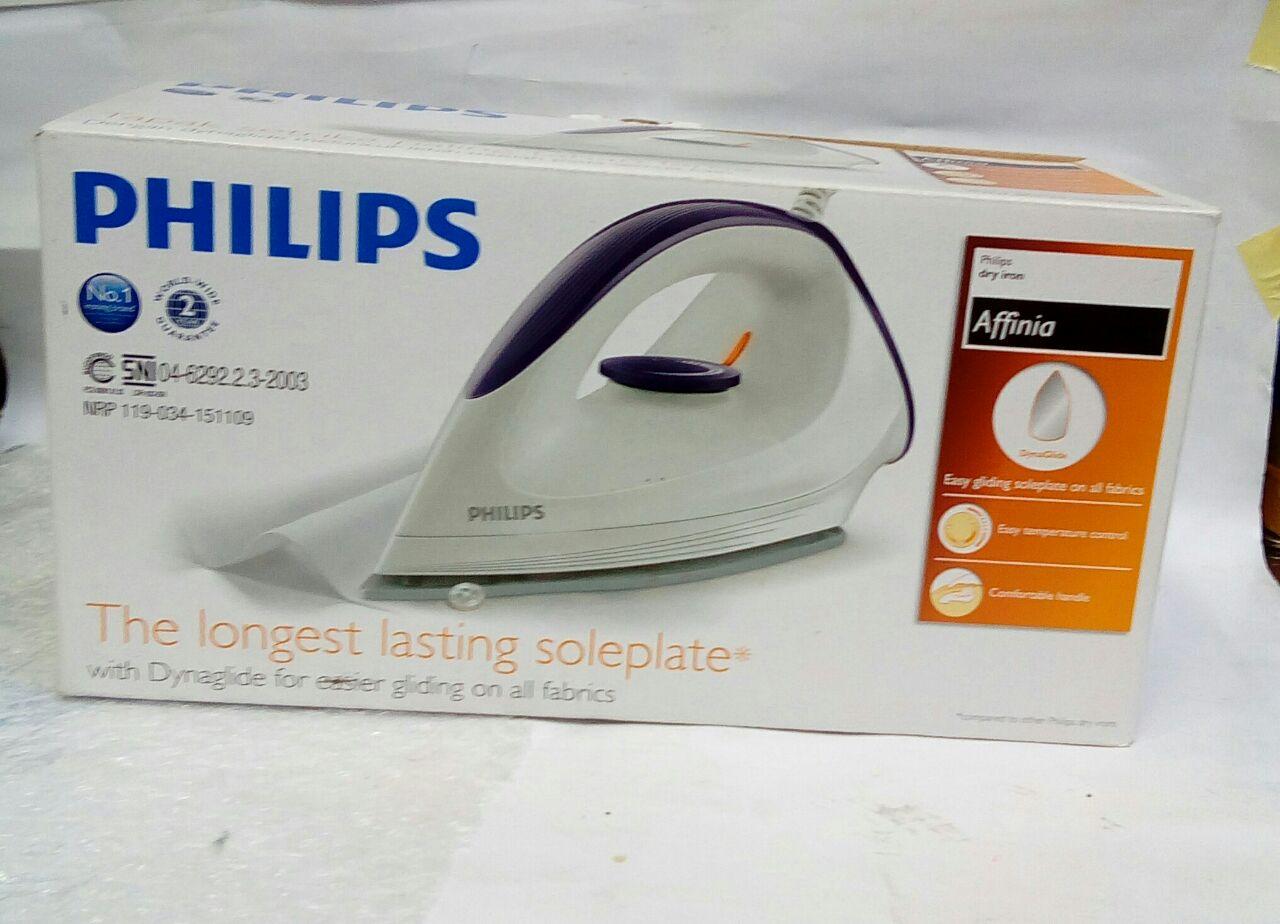 Philips Affinia Gc160 27 Daftar Harga Terlengkap Indonesia Setrika Dry Iron Putih Ungu Gc 160