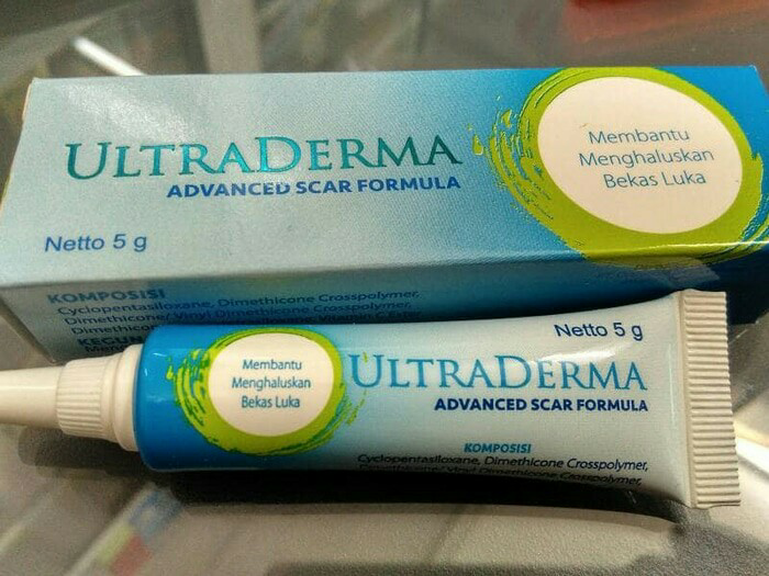 ULTRADERMA Ultra Derma 5gr 5 gr gram 5gram Scar Penghilang Bekas Luka