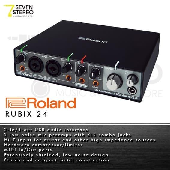 Roland Rubix24 USB Audio Interface - Soundcard