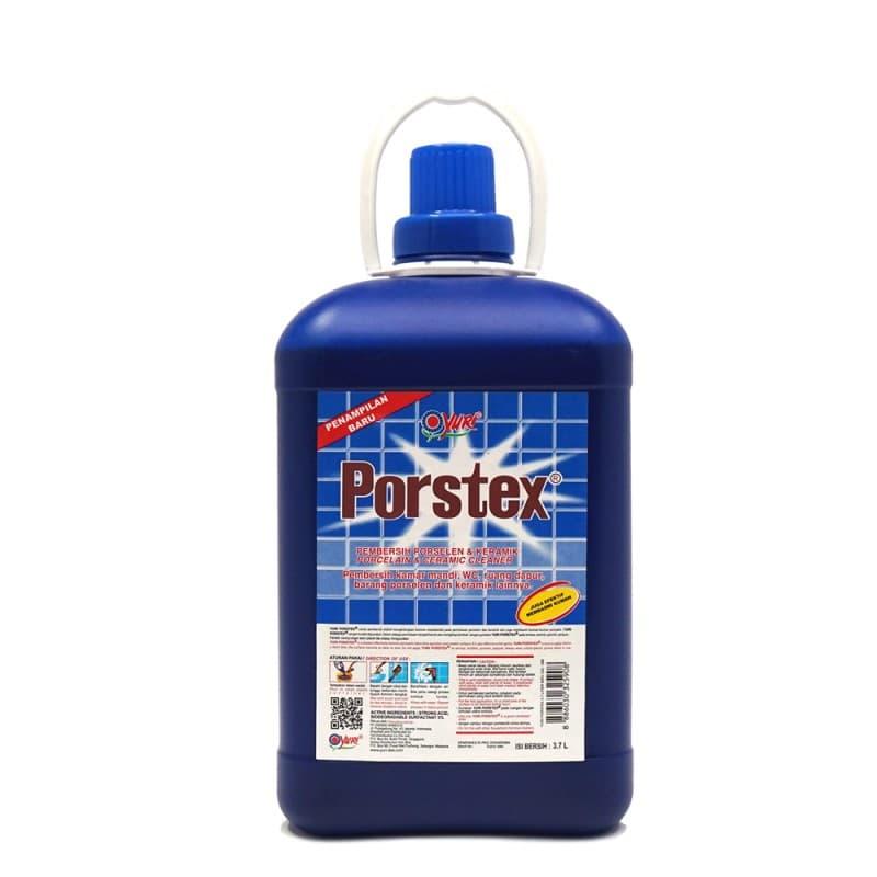 Yuri Porstex Porcelain & Ceramic Cleaner - Biru 3.7 Liter - Blanja.com
