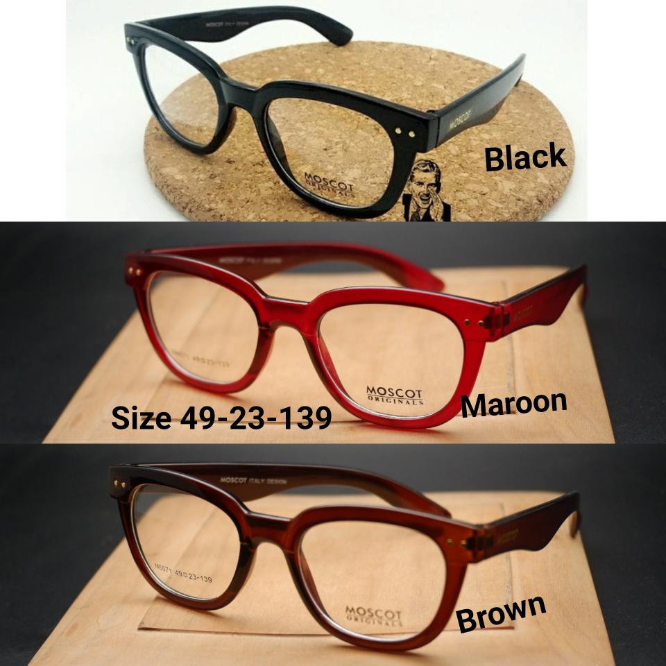 Jual Kacamata Moscot 6071 Frame Baca Pria Kuas Blush On Tabung 139