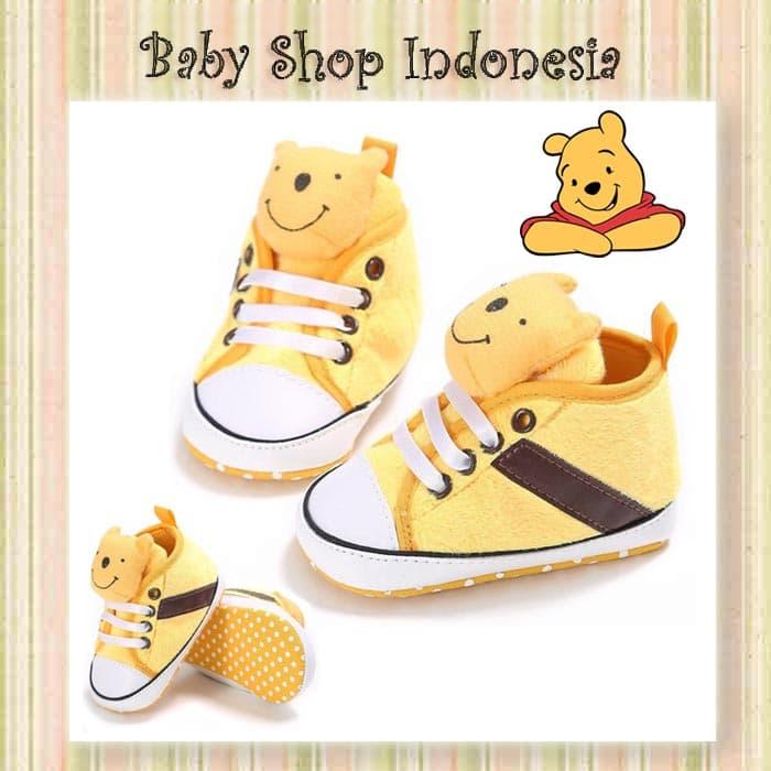 Sepatu Prewalker Import Murah Sepatu Bayi Prewalker Sepatu Bayi Pooh - Blanja.com