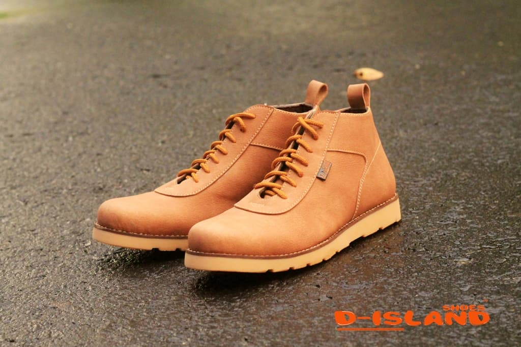 Jual D-Island Shoes Venture Boots Comfort Leather Soft Brown ... cac0dcffca