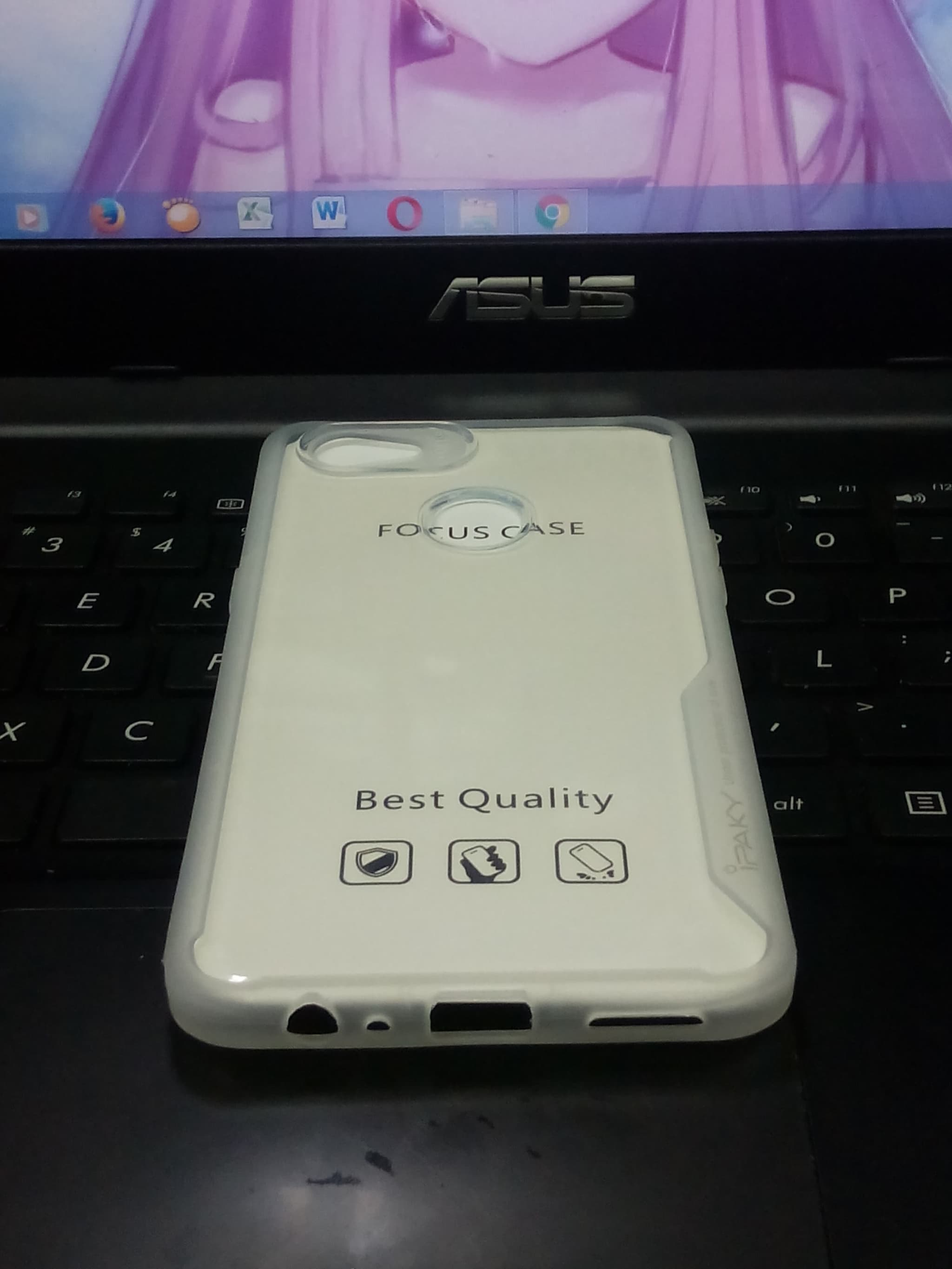 Softcase Oppo F7 Case Focus Ipaky Blanja