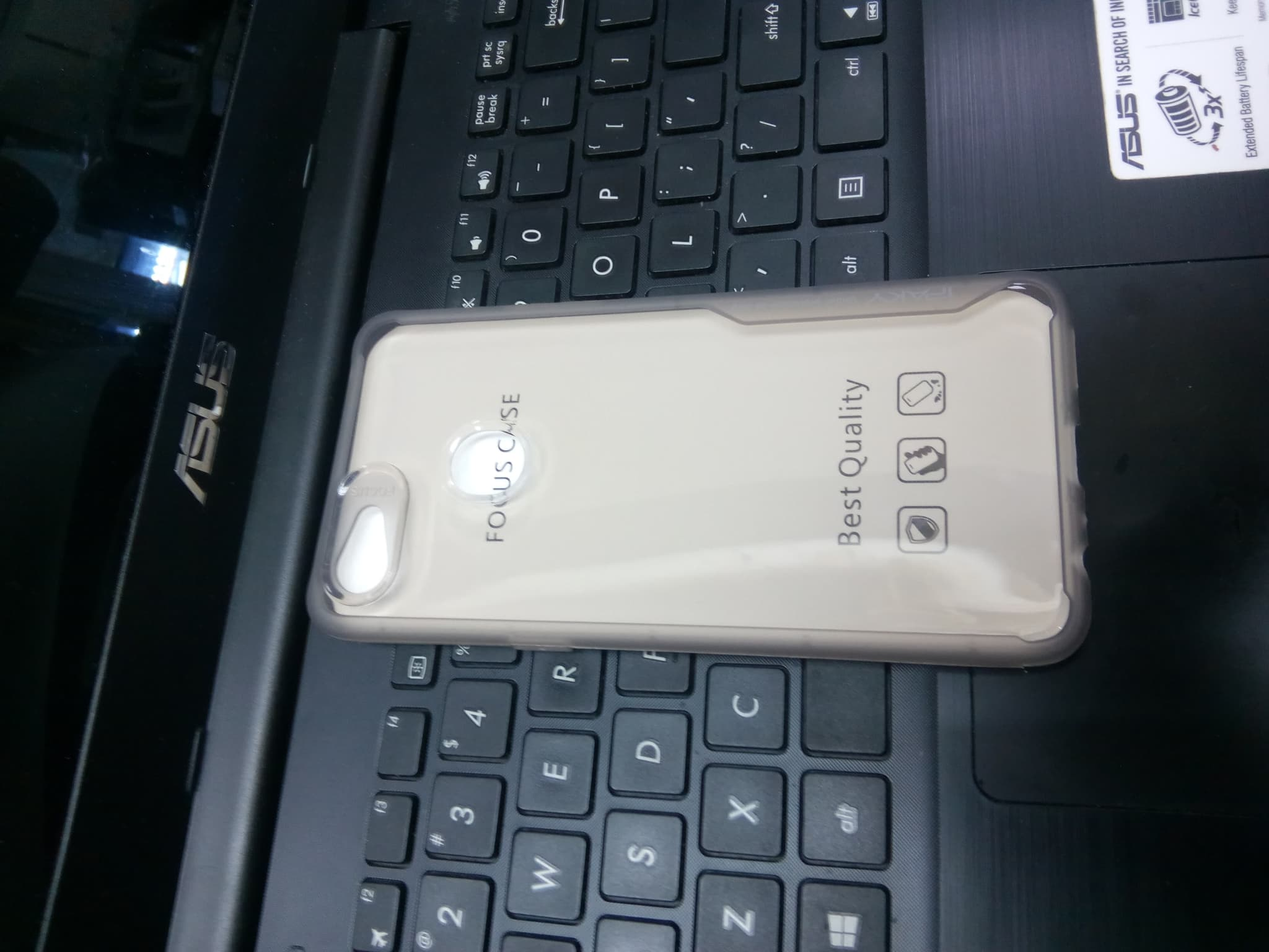 Softcase Oppo F7 Case Focus Ipaky