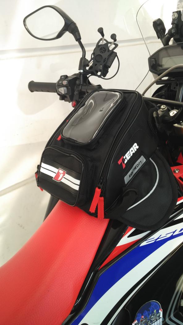 Tas Tangki Tas Motor Mini Tankbag 7Gear Untuk Harian