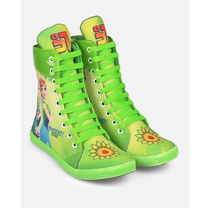 harga Sepatu Boots Anak Pesta Frozen, Bandung Fashion Asli, Jv18 641 Blanja.com