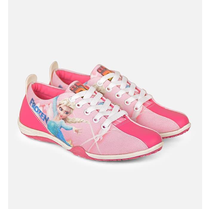 harga Sepatu Anak Casual Sekolah Frozen, Bandung Fashion Asli, Jv18 647 Blanja.com