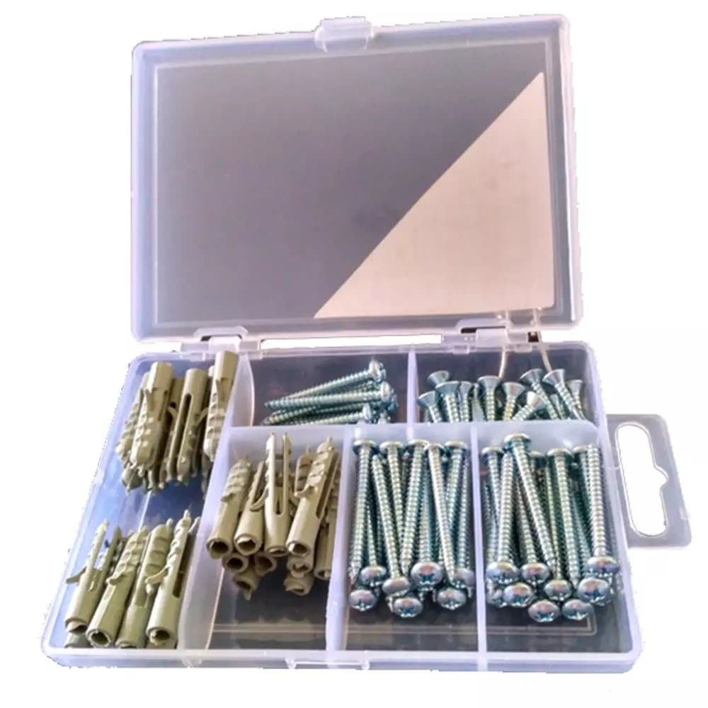 Jual Paket Perkakas Tool Kit Alat Pertukangan Kenmaster Skrup 1 Set Fisher