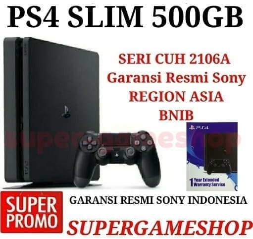 Ps4 Slim 500gb 2016a - Blanja.com