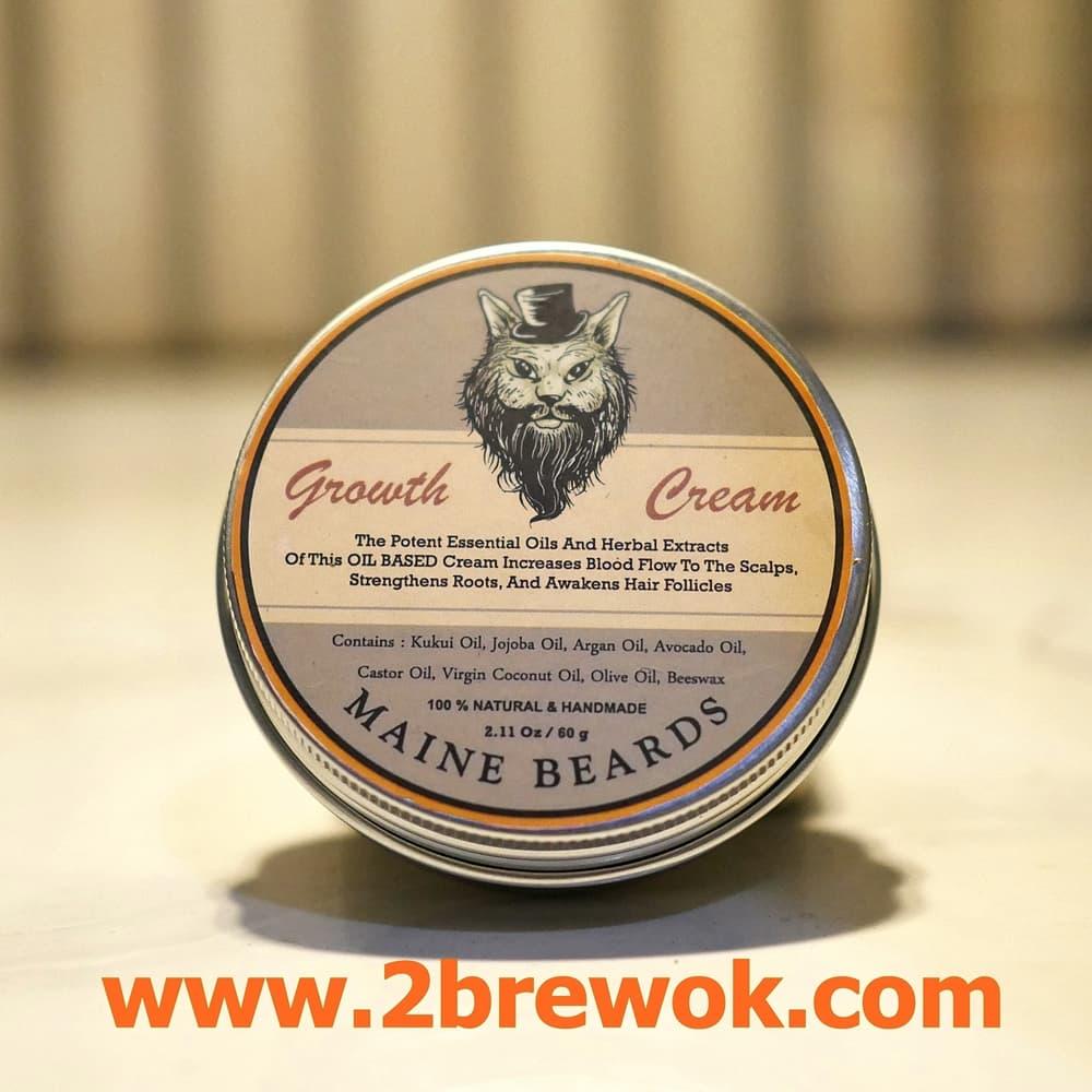 Jual Maine Beards Growth Cream Penumbuh Brewok Obat Serum Minoxidil Tokopedia