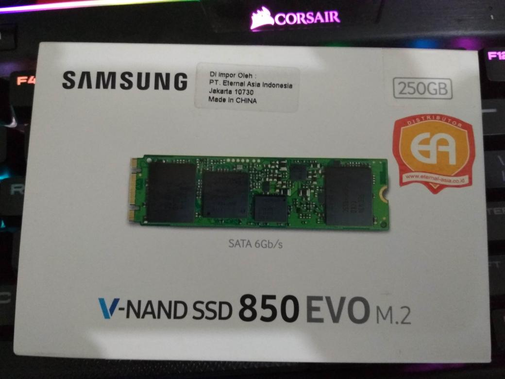 Jual Samsung Ssd 850 Evo M2 250gb Shiro Price Tokopedia