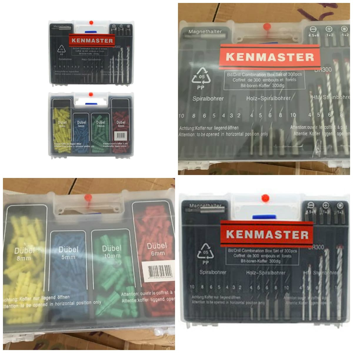 ... Paket Mesin Bor Mollar Mlr - Ed430 + Mata Bor Set & Tool Kit Kenmaster +