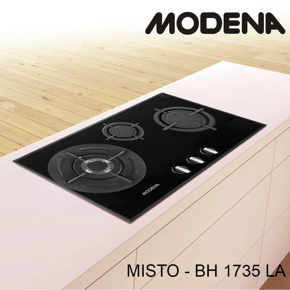 Modena Kompor Gas Tanam 3 Tungku Misto Bh 1375 La