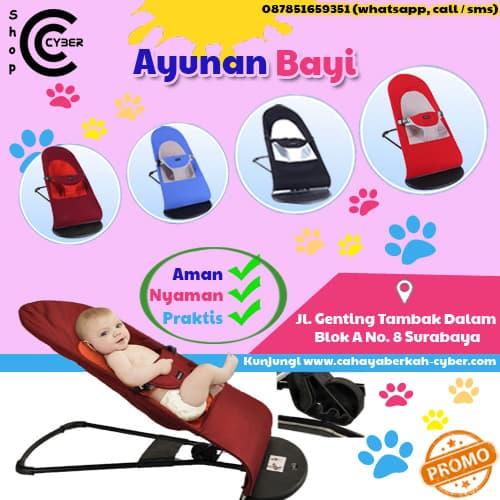 Jual Ayunan Bayi Baby Rocker New Cyber Warna Biru - Aman 86b985a1c5