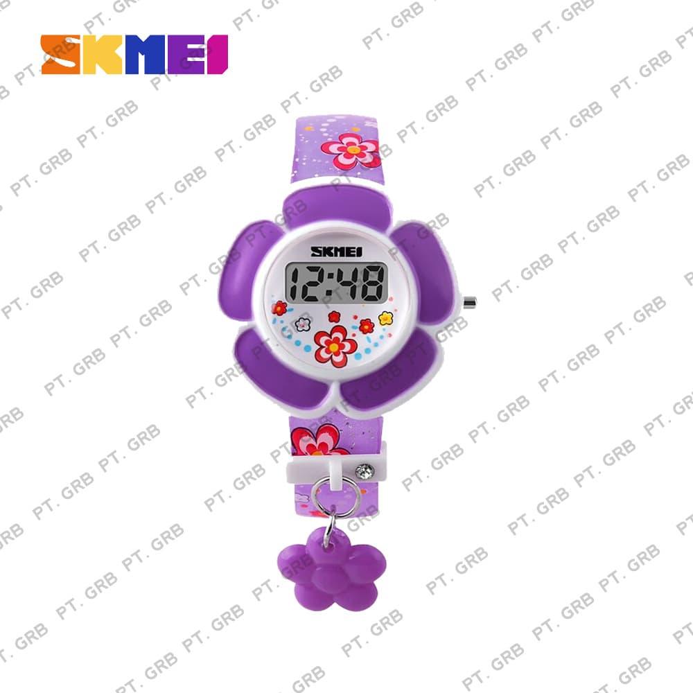 Jam Tangan Anak Wanita Digital SKMEI 1144 Purple Water Resistant 50M