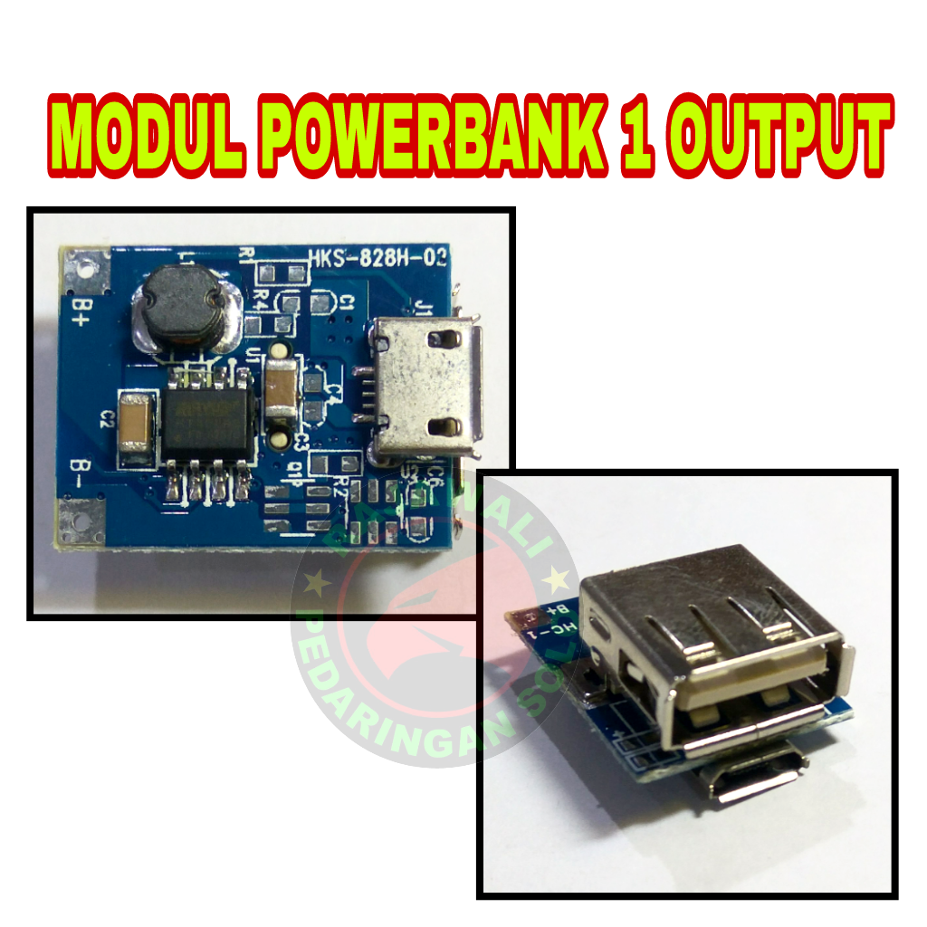 Jual Modul Powerbank Step Up Output 1a 5v Rajawali Computer Solo Power Bank 1 Tokopedia