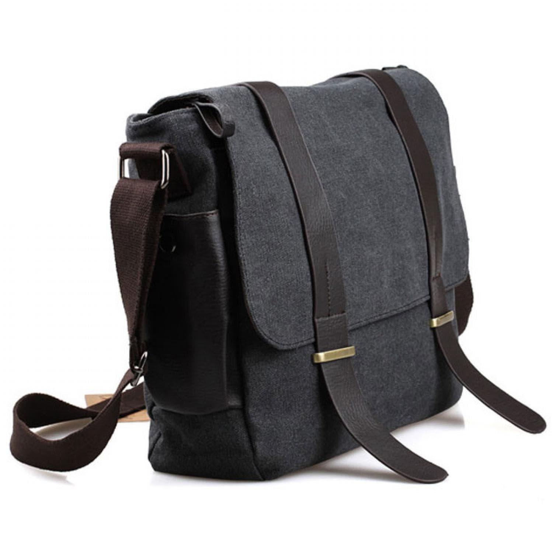 ... Bodypack Bag Tas Selempang Pria Bahan Jeans | Men Sling Shoulder Bags - Hitam - Blanja ...