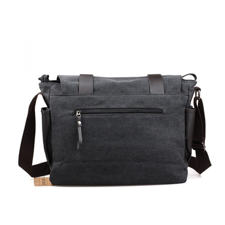 ... Bodypack Bag Tas Selempang Pria Bahan Jeans | Men Sling Shoulder Bags - Hitam - Blanja