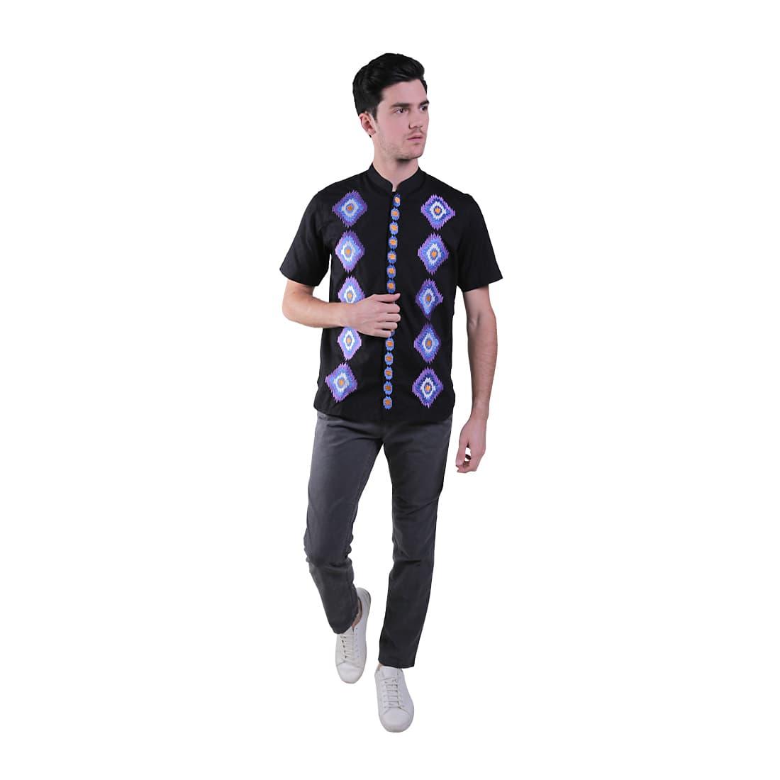 Salt N Pepper Polo Shirt Pria Black Beli Harga Murah Kemeja Lengan Pendek Snp 069 Abu Muda Xl Koko 013 Hitam Blanja