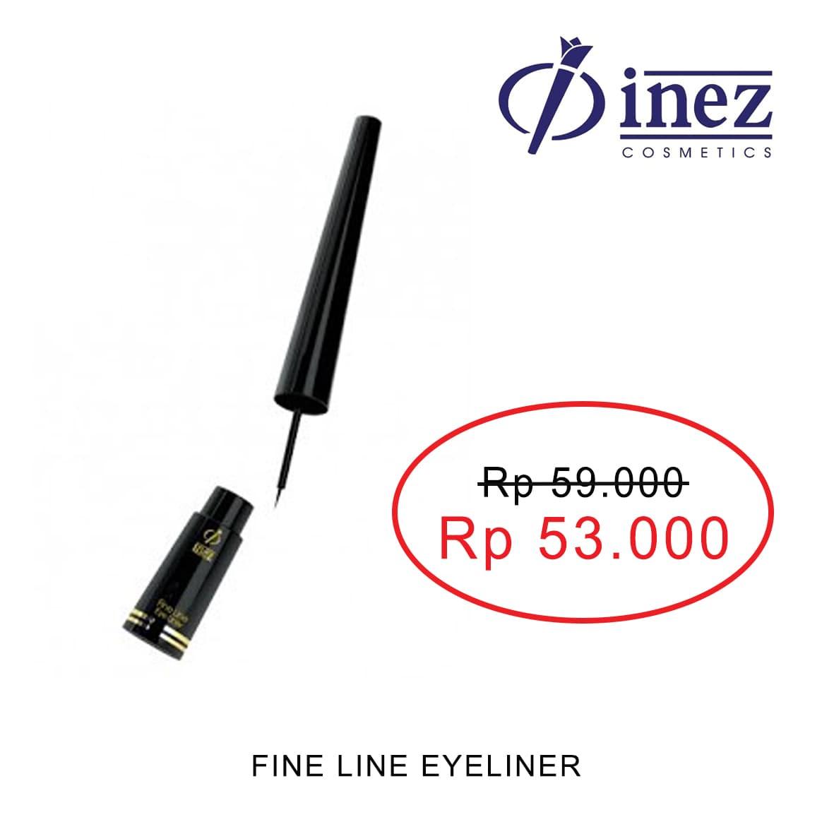 Jual Promo Inez Fine Line Eye Liner Black Cantika Beauty Eyeliner Cosmetics Tokopedia