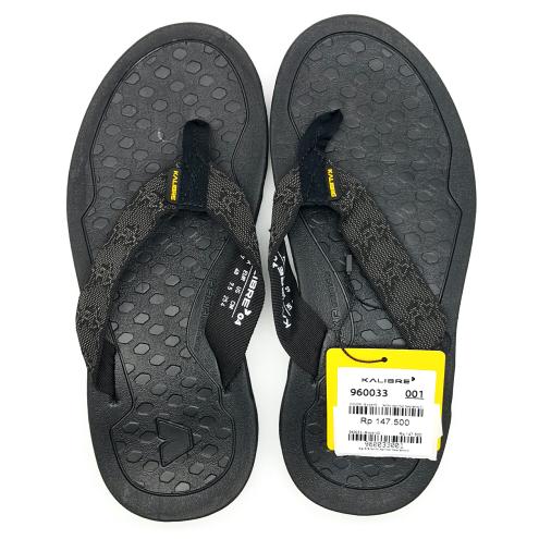 ... Kalibre Hexa 01 Sandal Gunung Traction Grip Sandal Jepit Hitam 960033 - Blanja.com
