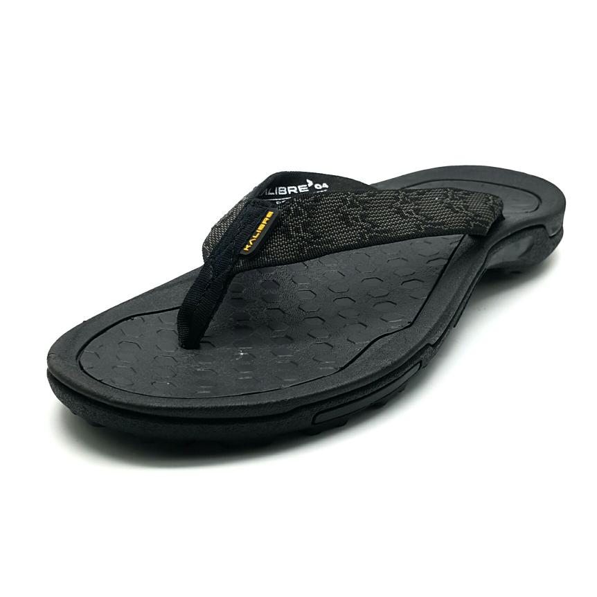 Kalibre Hexa 01 Sandal Gunung Traction Grip Sandal Jepit Hitam 960033