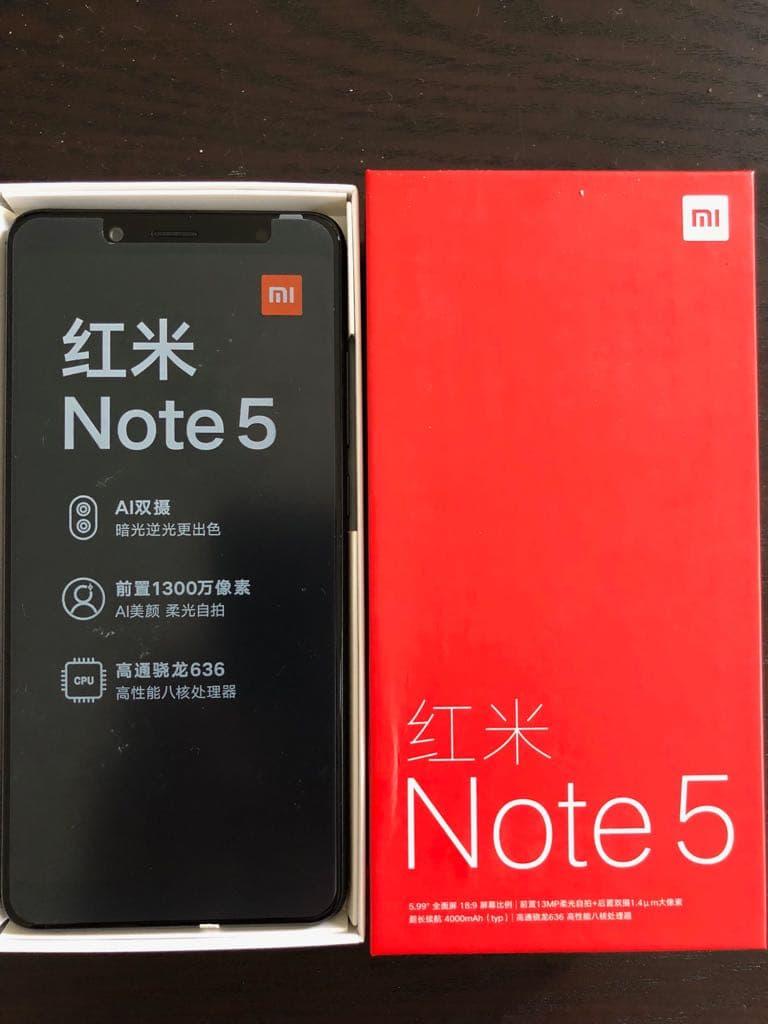 Jual Xiaomi Redmi Note 5 Pro 4gb 64gb Garansi Distributor 1 Iphone 6 Tahun