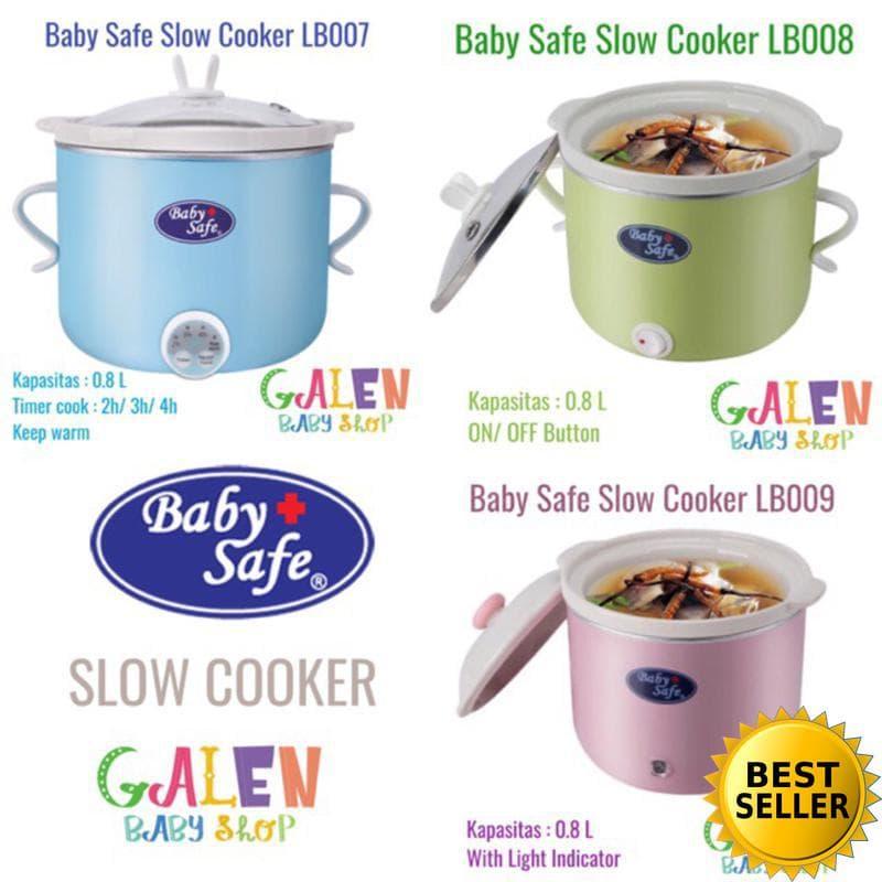 Jual [PROMO] Baby Safe Slow Cooker LB007 LB008 LB009 Babysafe Food Maker - Sixteen
