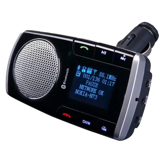 harga Handsfree Bluetooth Speaker Mp3 Player Mobil Dengan Remote Control Blanja.com