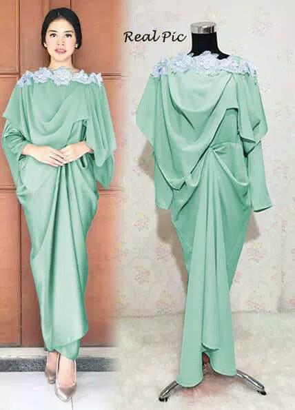 Jual Baju Pesta Kebaya Wisuda Kaftan Gaun Maxi Dress Gamis Abaya