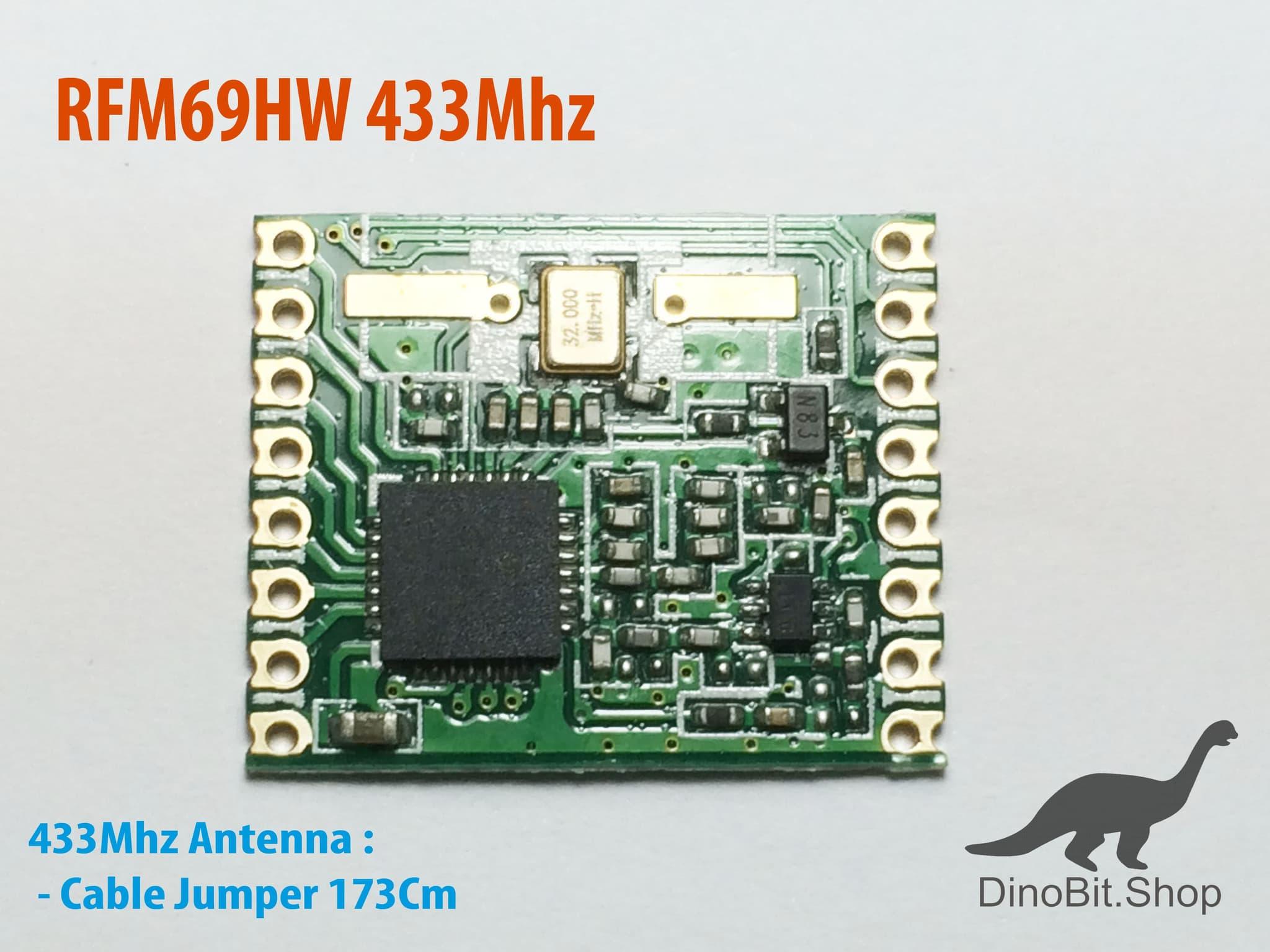 Jual RFM69HW 433Mhz rfm69 wireless module New - Kab  Karawang