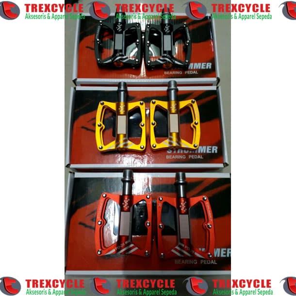 harga Pedal Strummer Original Pd28 Untuk Sepeda Mtb - Kuning Hitam Merah Blanja.com