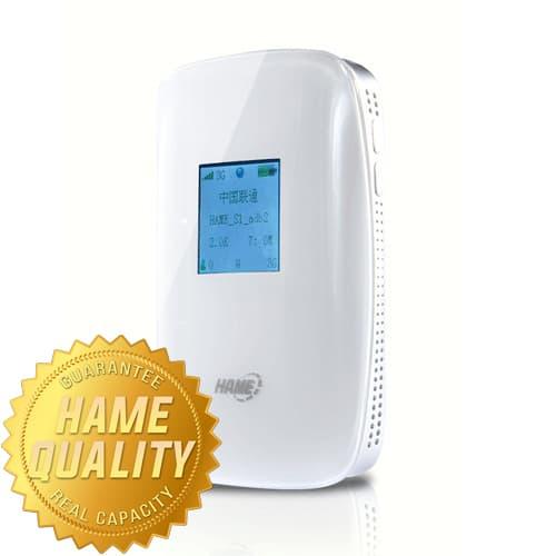 harga Hame S1 Portable 3g Wireless Router & Mobile Power Bank 5200mah Blanja.com