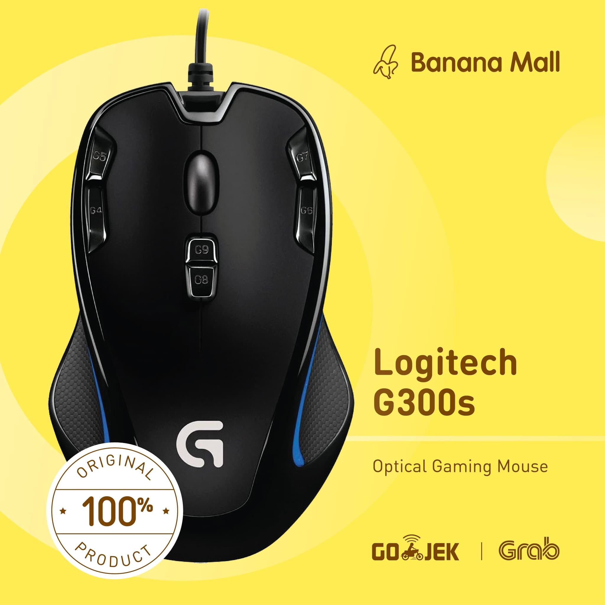 Jual Original Logitech G300S Optical Gaming Mouse Banana Mall
